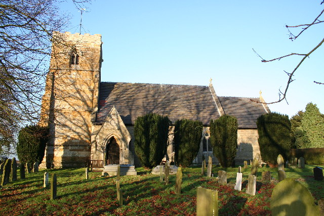 St.Giles' church, Langton-by-Wragby, Lincs.