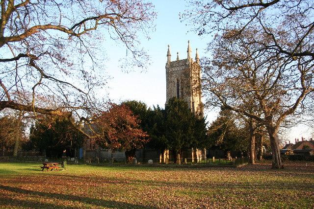 All Saints' church, Wragby, Lincs.
