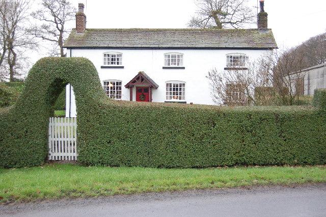 Farm House on the corner of Lodge Lane Elswick.