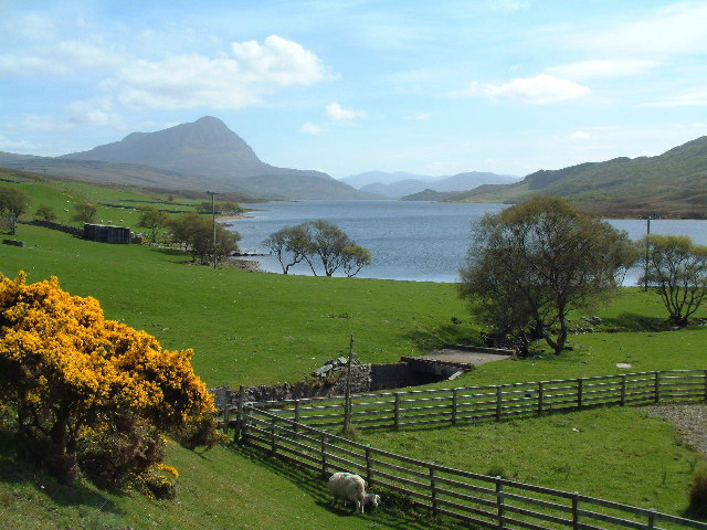 Loch Hope (northern end)
