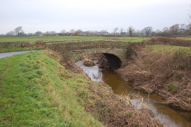 Bridge over Barton Brook