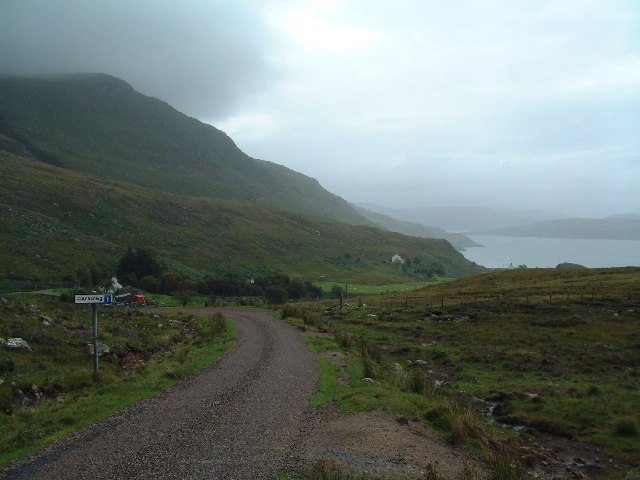 The dead-end road to Culnacraig