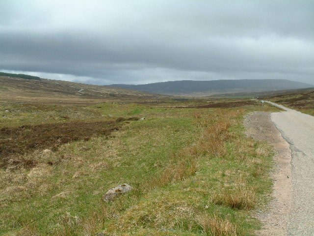 The A836 near Inchkinloch