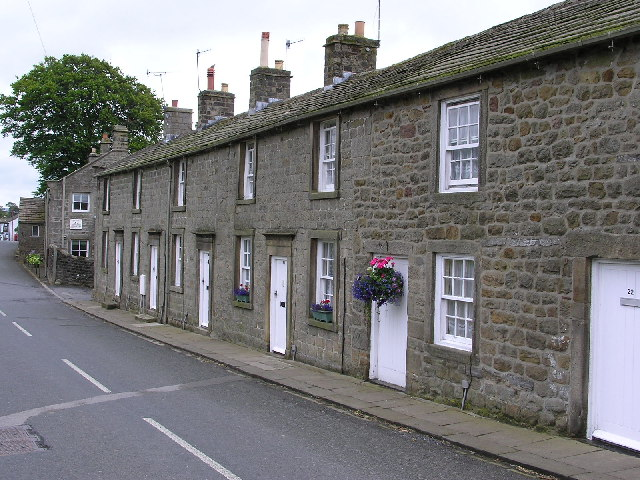 Farm workers' cottages Eastby, Yorkshire