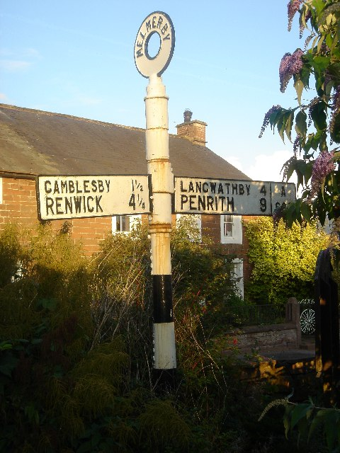 Melmerby Signpost