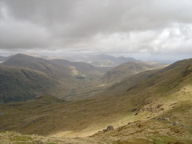 Beinn a' Chochuill east ridge