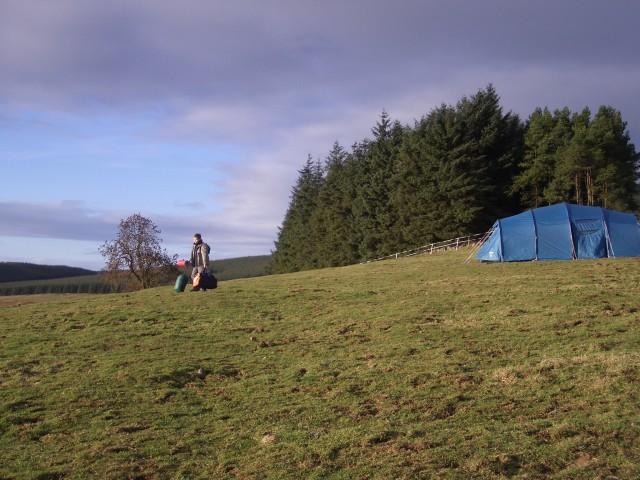 Field below Munduff Hill
