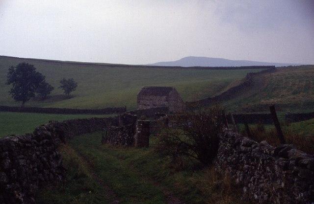 Green Lane below Cote Pasture