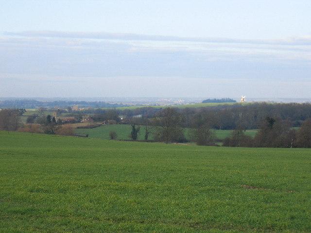 View towards Chesterton