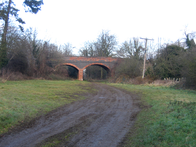 Railway bridge, Southorpe, Peterborough