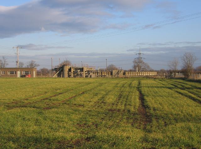 Sewage works, Bainton, Peterborough