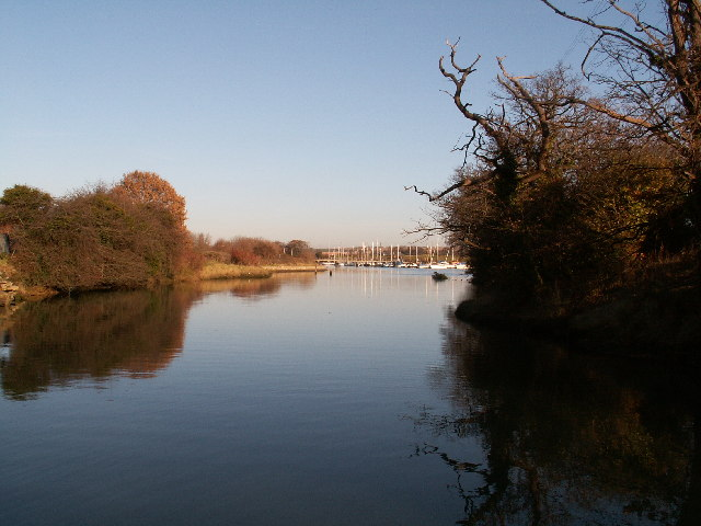Fareham Creek from Hoeford