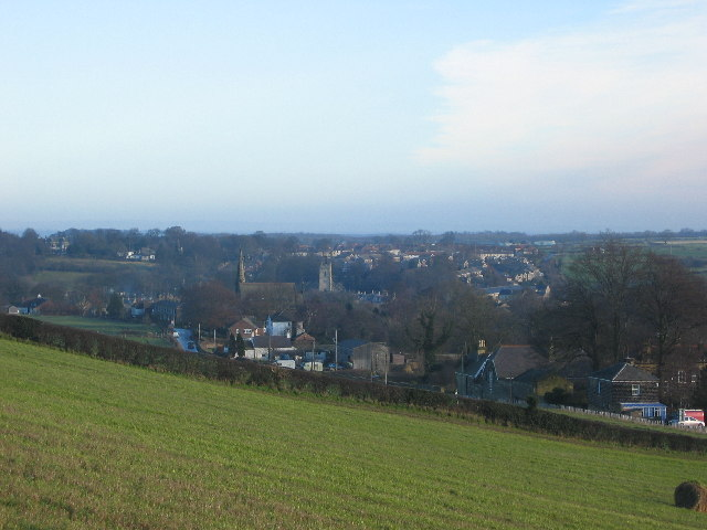 Thorner from the west