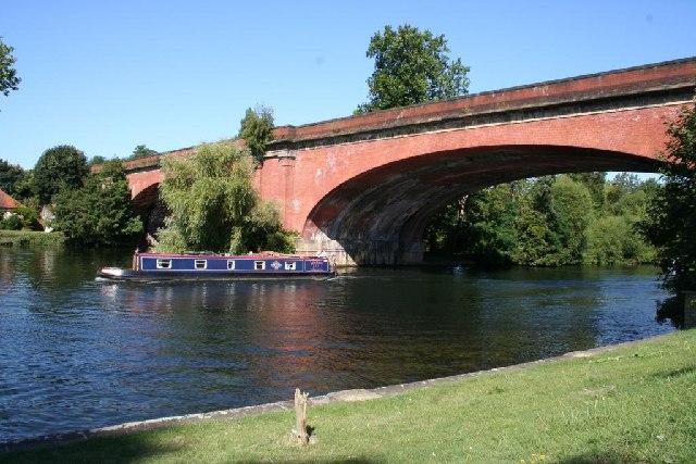 Brunel's Railway Bridge at Maidenhead