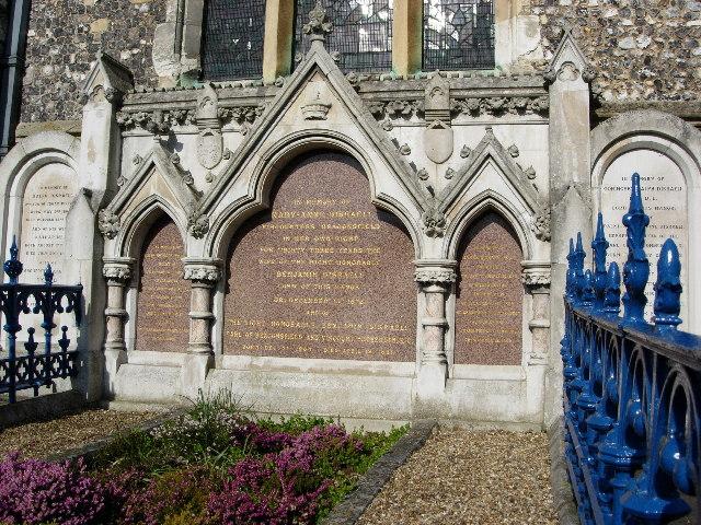 Disraeli tomb, Hughenden Church