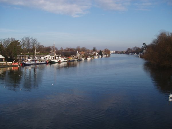 The Thames at Walton