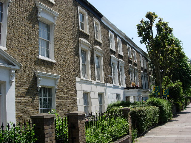 Houses, Southgate Road, Islington