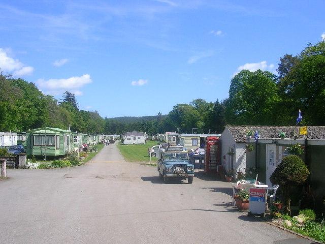 Caravan Site at Banchory