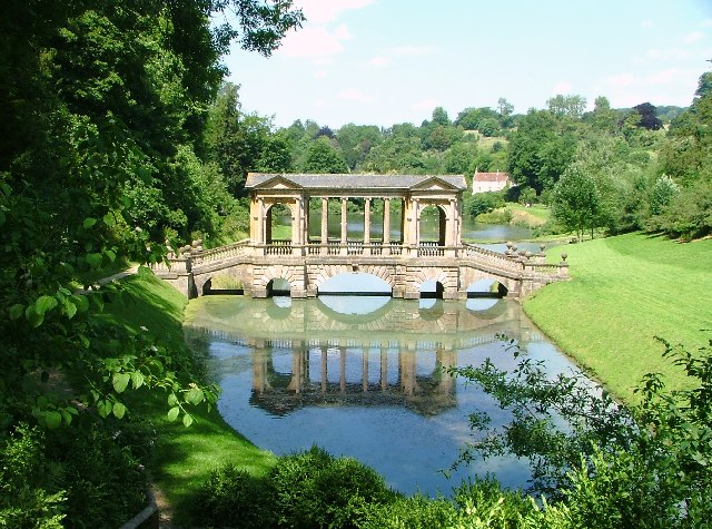 The Palladian Bridge, Prior Park Garden, Bath