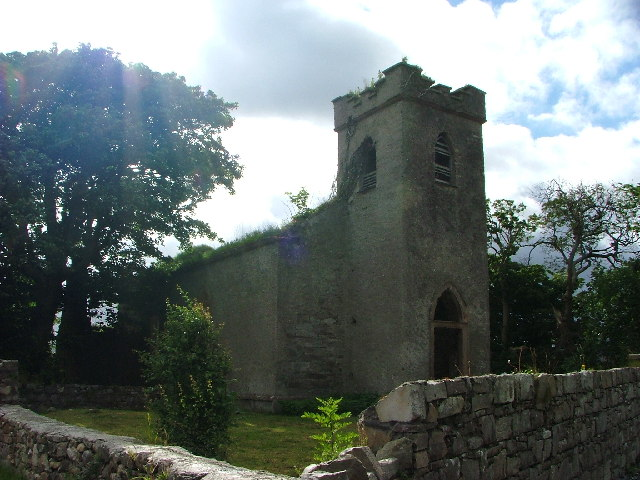 The Derelict Church at Clonmany, Inishowen, Donegal