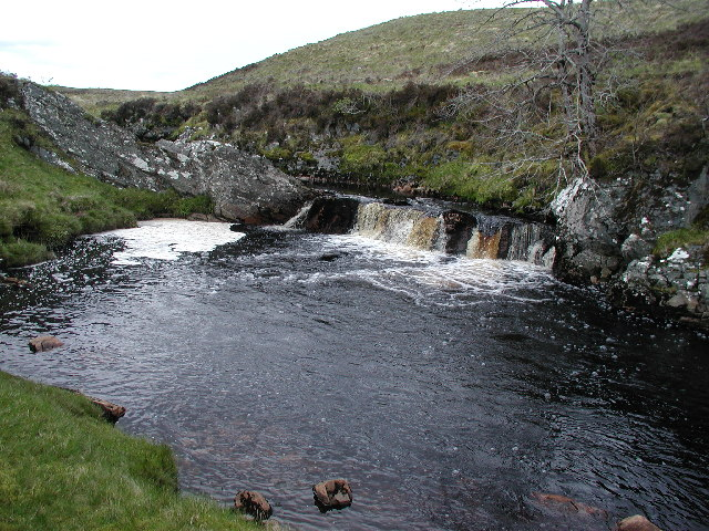 The Lower Falls Pool (River Tirry)