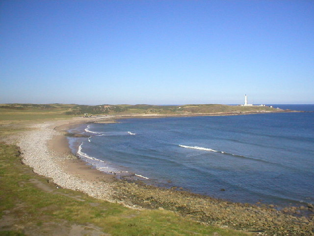 Nigg Bay and Girdleness Lighthouse
