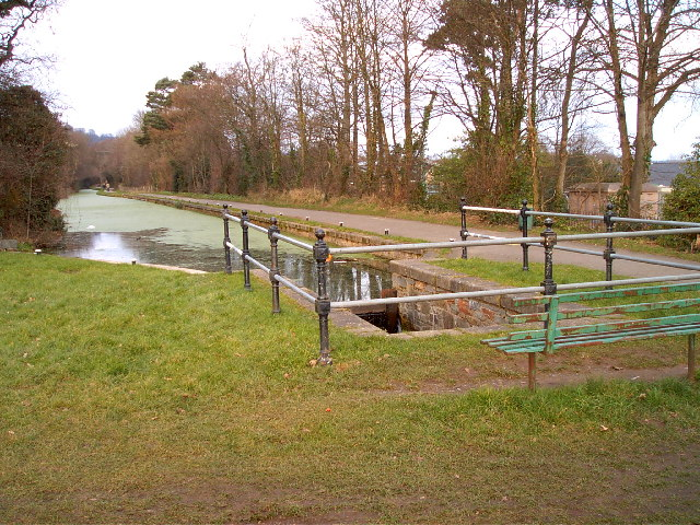 Top of 5 Locks Monmouth and Brecon Canal