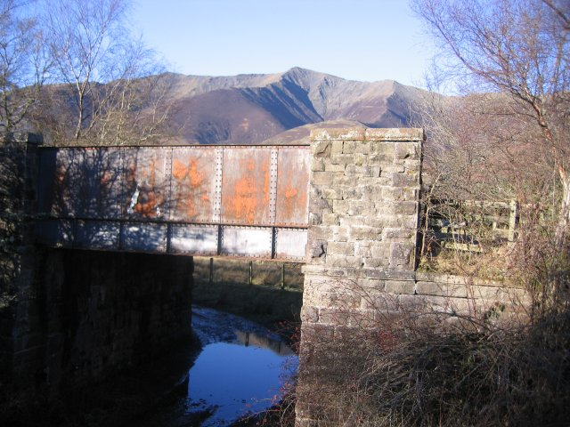 Old railway bridge.