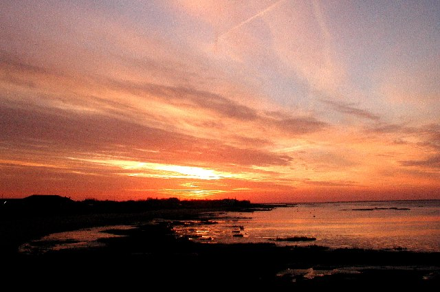 Dawn over Kilnsea