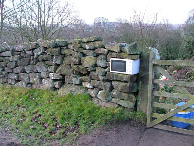 Recycled Microwave, Danby