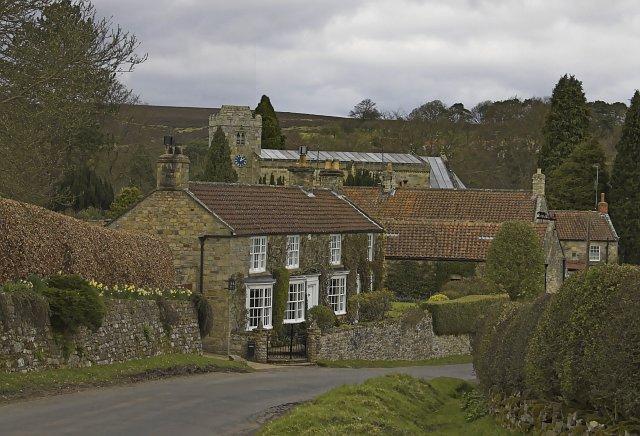 Lastingham Village