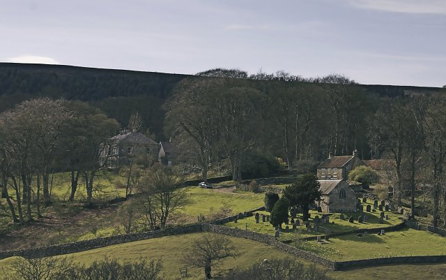 The Church and Bransdale Lodge