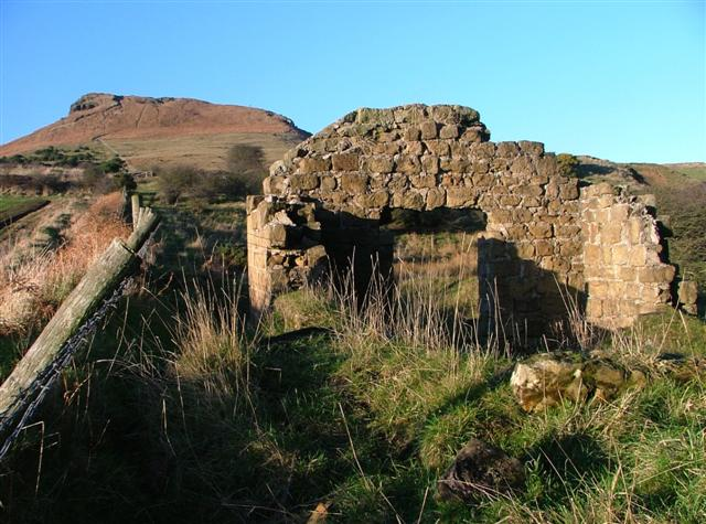 Ruins of Powder Magazine, Roseberry Mine
