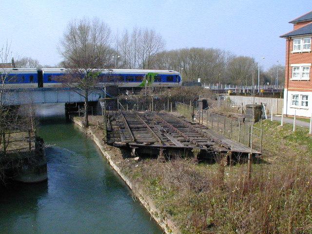Oxford - LNWR Swing Bridge