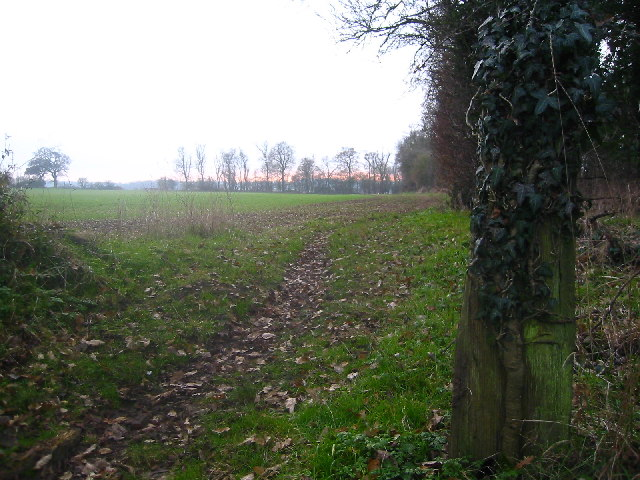 Footpath to Church End, Weston