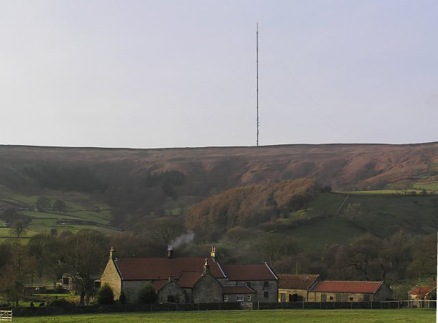 High Ewecote & Bilsdale TV mast