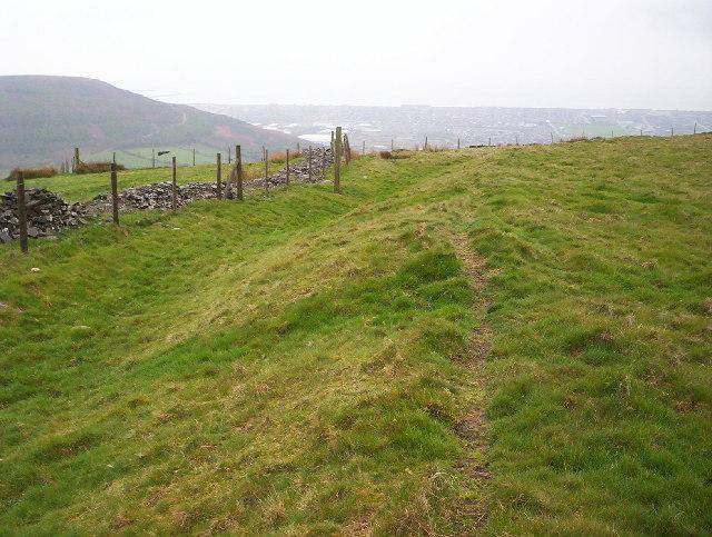 Buarth y Gaer Iron Age Hill Fort