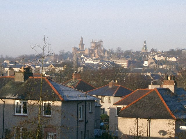Dunfermline on Christmas Morning 2005.