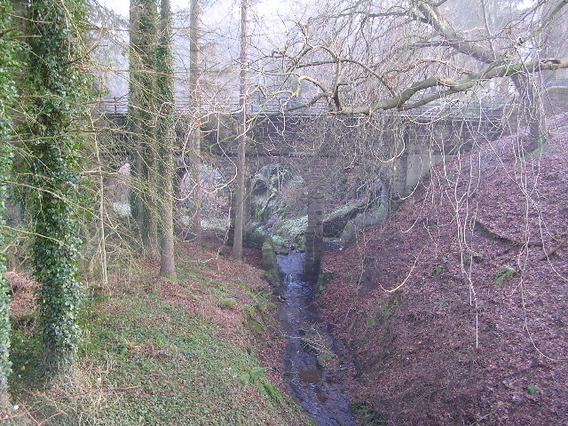 Aqueduct across Kirkhouse Burn, Killearn