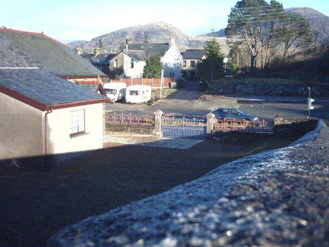 Plot where Capel Bethel used to be, Llan Ffestiniog, 10.23am