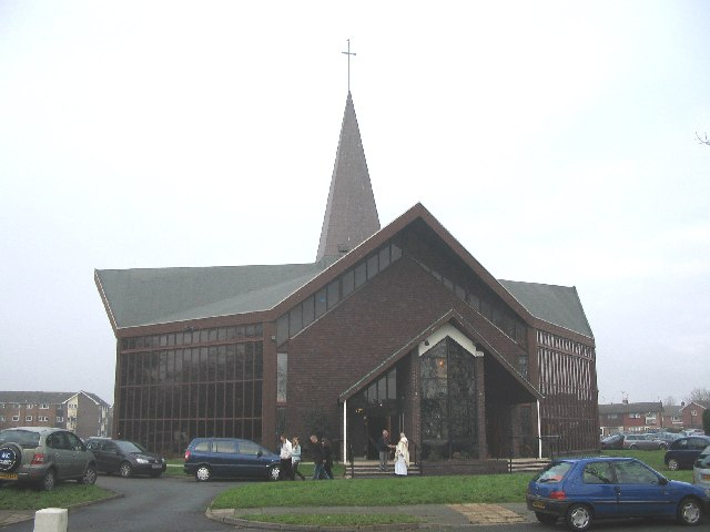 St. Columba's  RC Church, Plas Newton