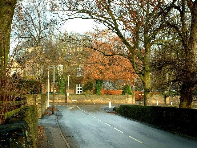 Junction of Hopton Hall Lane and Hopton Lane, Upper Hopton