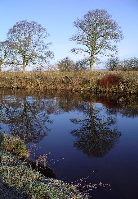Reflections, River Annan, Christmas Day 2005
