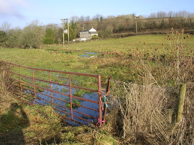 The Piddle valley south of Piddletrenthide
