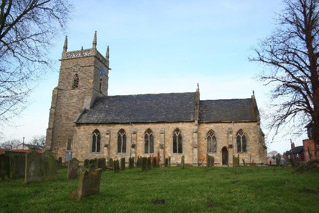 St.Andrew's church, Potterhanworth, Lincs.