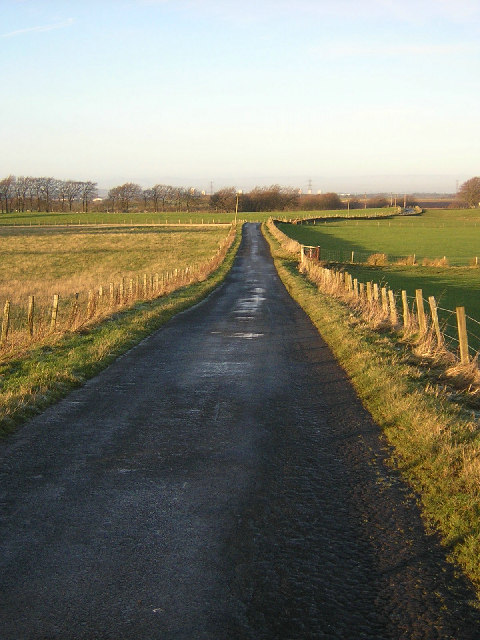 Country Road Between Carnduff and Dykehead
