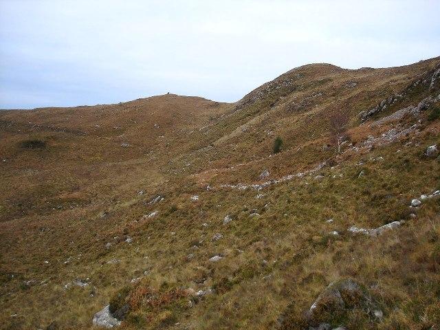 Hillside below Meall an Leathaid Dharaich
