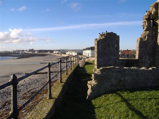 Christmas day on Castletown shore (2)