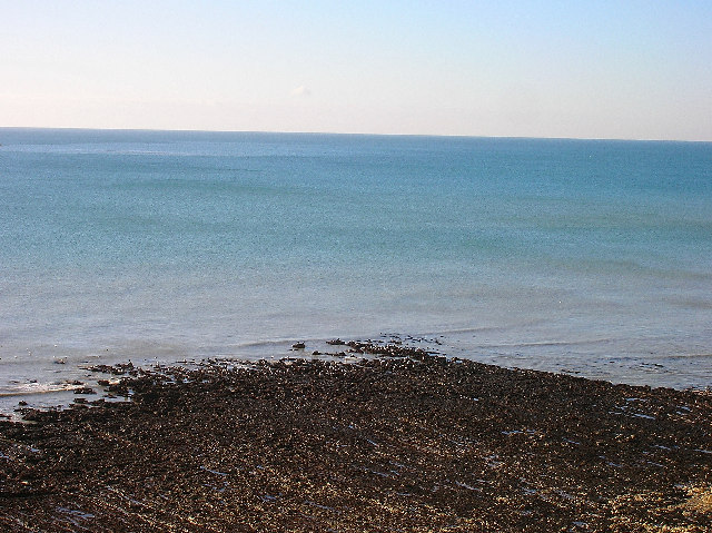 Rocky beach, Peacehaven, 11.57am Christmas Day