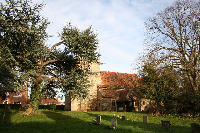 St.Margaret's church, Bucknall, Lincs.